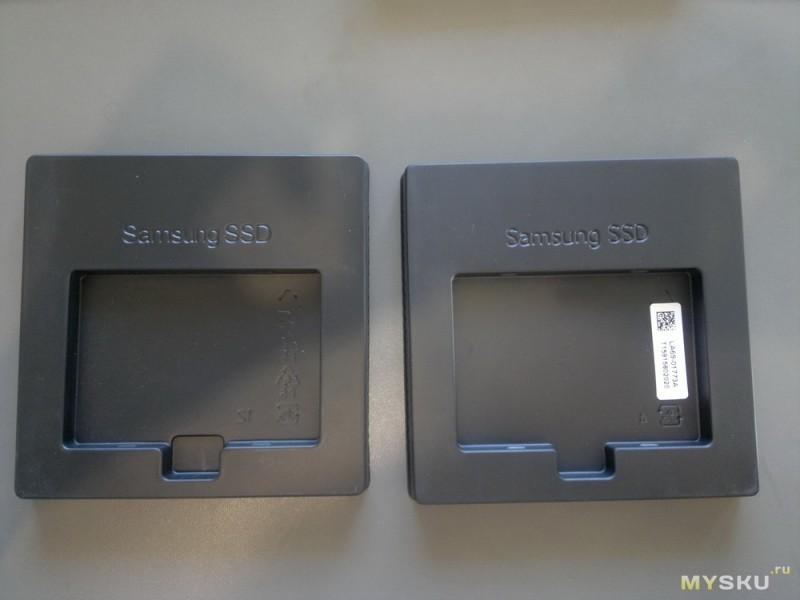 Fake SSD Samsung 850 EVO from AE-Samsung Store