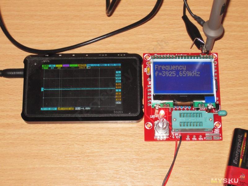 Самодельный тестер для транзисторов
