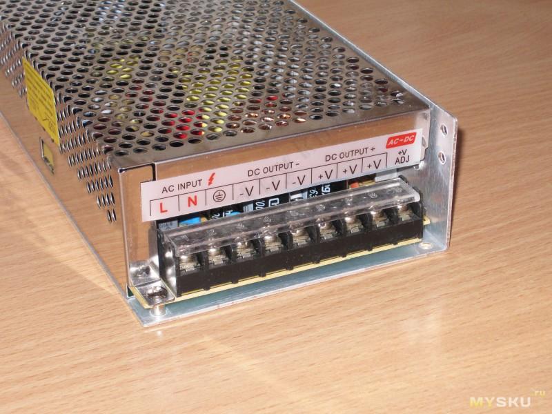 Блок питания на 12 вольт 5 ампер своими руками