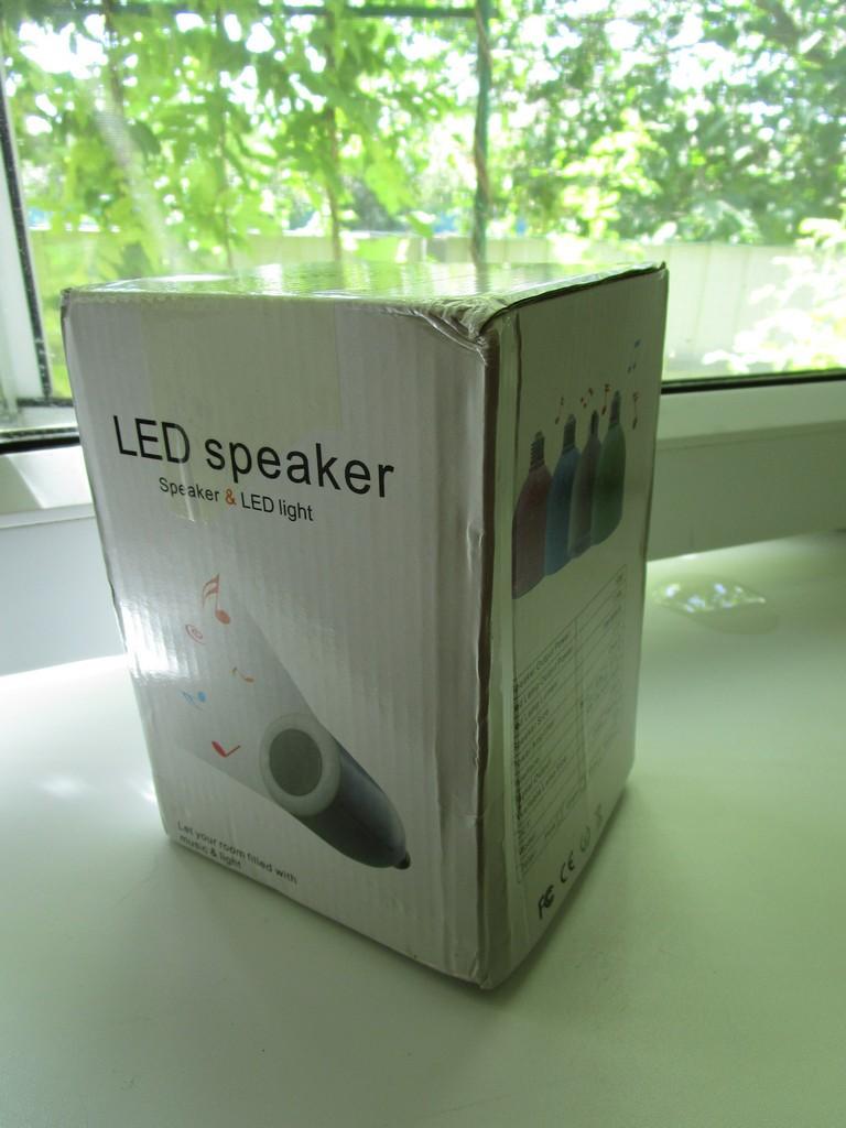 ChinaBuye: Лампа-спикер