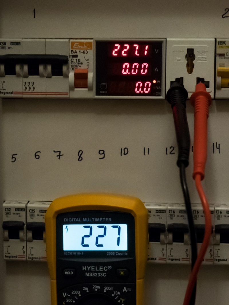 GearBest: Энергомонитор ELECALL D52 - 2048 для крепления на DIN рейке