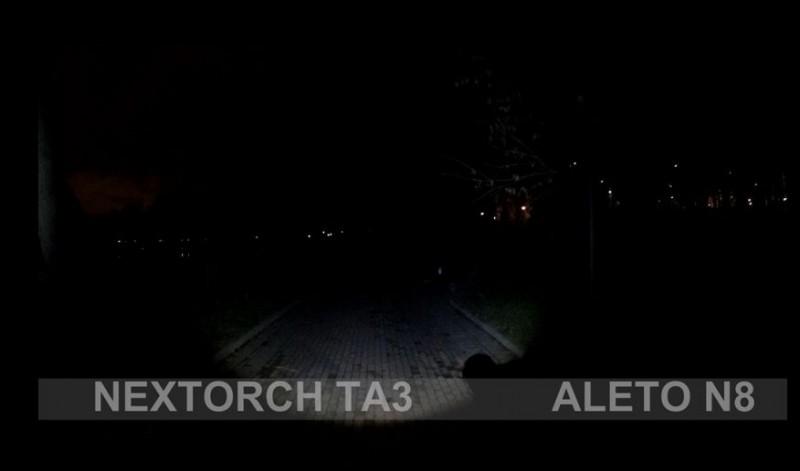 Aliexpress: Подствольный фонарь Nextorch TA3 Set