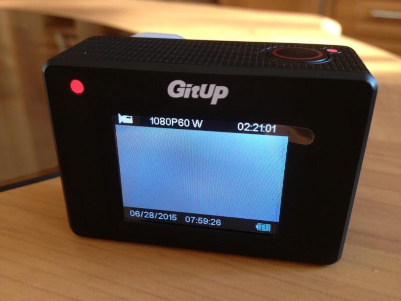 GearBest: GitUp Git2 комплектация Pro: оптимальная 4К экшен камера