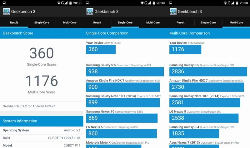 GearBest: Бюджетный телефон Cubot P11