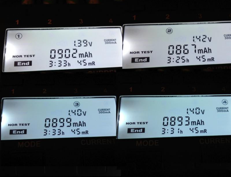 Ebay: Отличные аккумуляторы PKCELL ААА 850mah. Тест на разряд