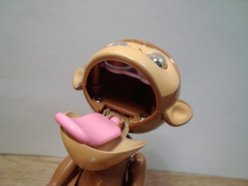 Lightake: Классная механическая копилка голодная обезьяна