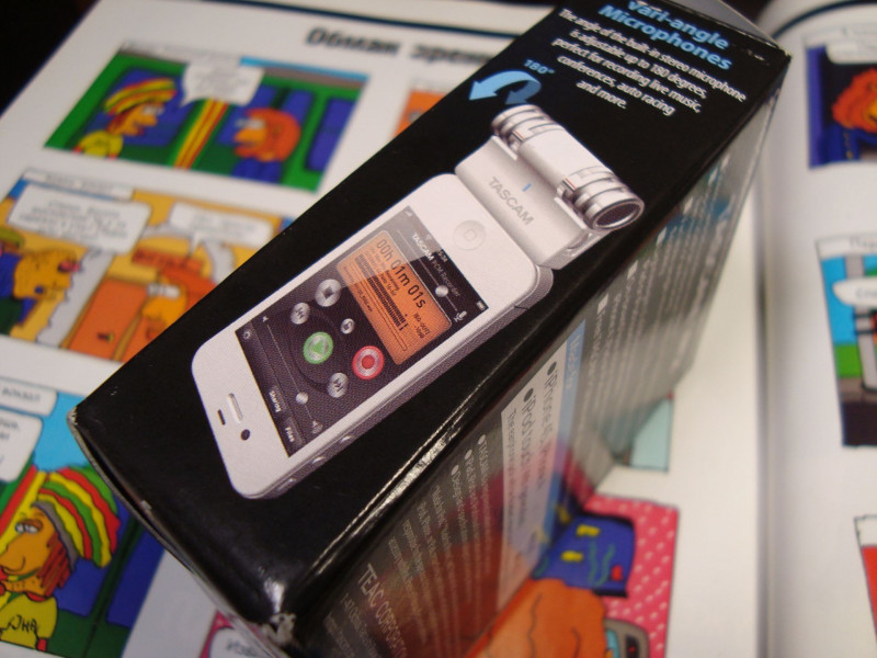 Ebay: Tascam IM2W - конденсаторный микрофон для Iphone 4S