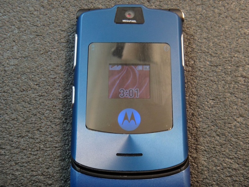 DD4: Обзор Motorola Razr v3i восстановленная refurbished