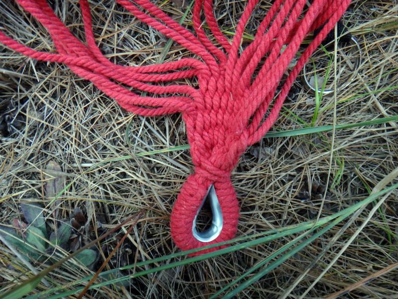DD4: Разноцветный гамак для отдыха на природе или пикнике