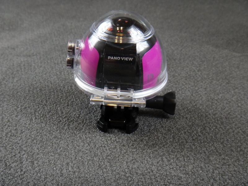 Newfrog: 4к экшен камера с панорамной съемкой в водонепроницаемом кейсе + поддержка WiFi
