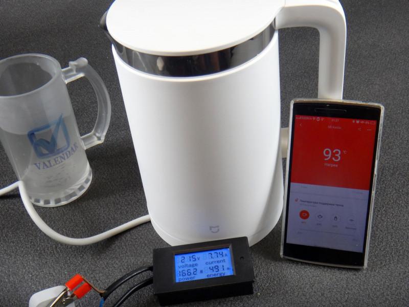 GearBest: Обзор Xiaomi Mi Kettle умный чайник с функцией термоса