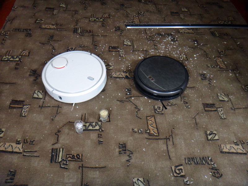 GearBest: Xiaomi Mi Robot Vacuum робот пылесос обзор и сравнение уборки с ILIFE