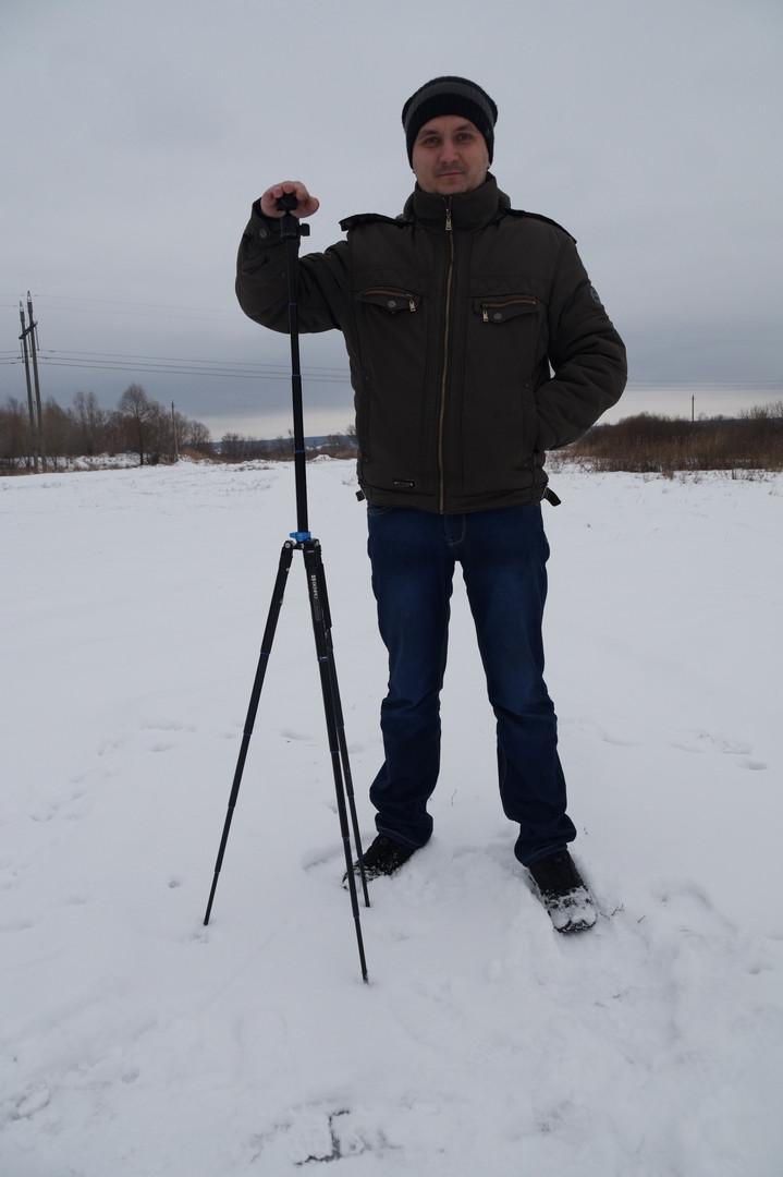 Другие - Китай: Benro IS05 легкий и компактный штатив для фотоаппарата