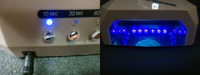 GearBest: Популярная гибридная LED лампа для полимеризации гель-лака 36W (12W CCFL+24W SMT LED)