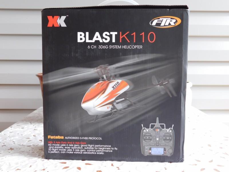 TomTop: Вертолёт XK K110 6CH 3D Brushless RTF , стоит ли новичку брать или нет?