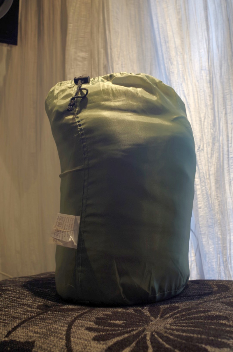 DD4: Очень дешевый спальный мешок