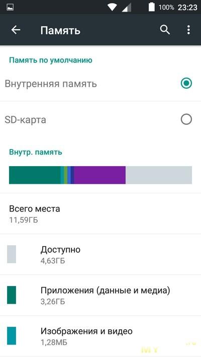 Как сделать память sd карты основной android 8
