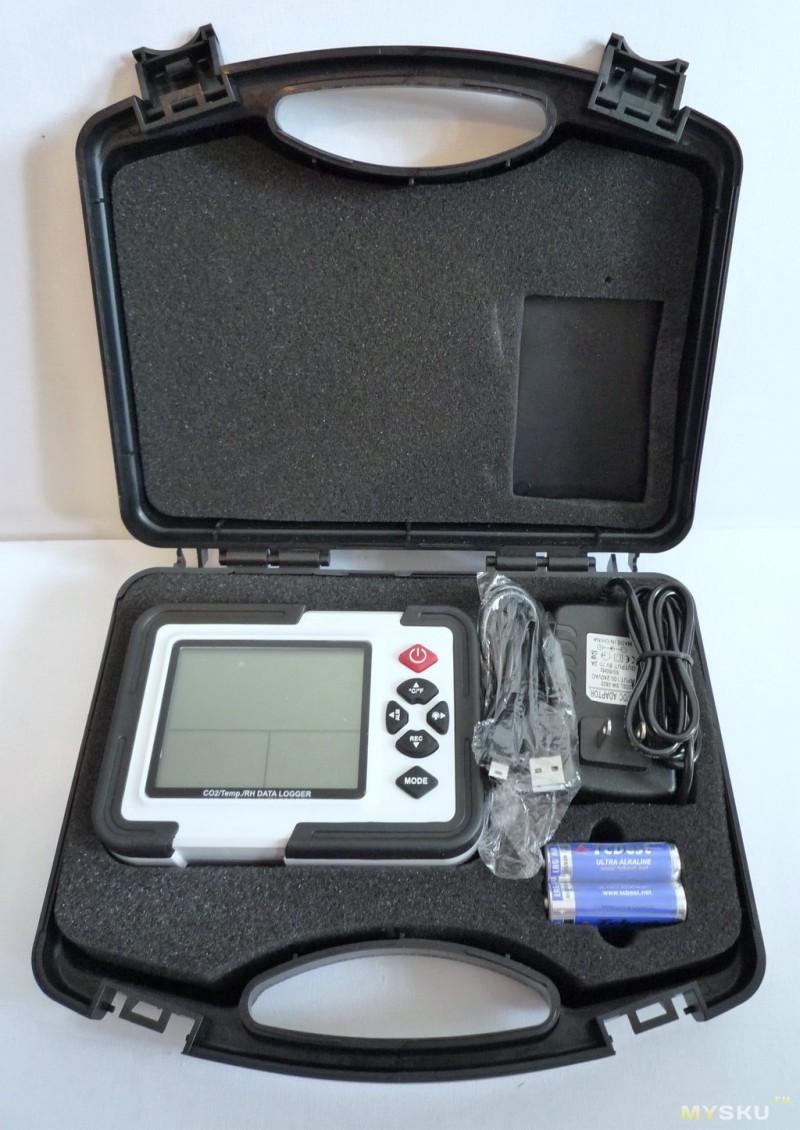 XINTEST HT-2000. Прибор для измерения концентрации углекислого газа в воздухе.
