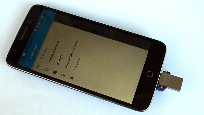 Banggood: Флешка Eaget V60 USB 3.0 с OTG на 64 gb