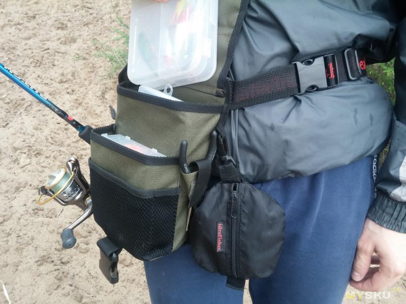 Как сшить сумку для рыбака 33