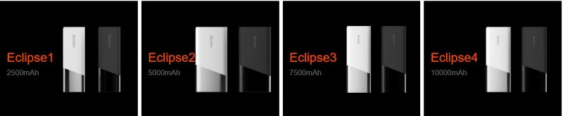 Banggood: Powerbank Besiter 10400 mAh (серия Eclipse)