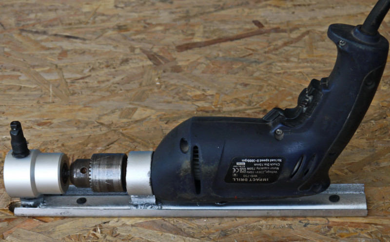 Banggood: Насадка на дрель для резки металла - высечные ножницы  YT-160A.