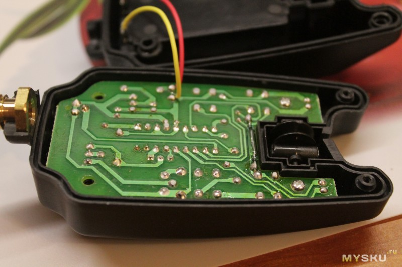 ремонт электронного сигнализатора поклевки