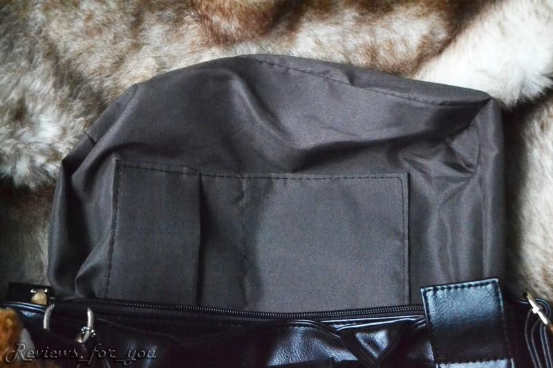 Banggood: Женская сумка черного цвета с брелком-игрушкой 'мягким медвежонком'