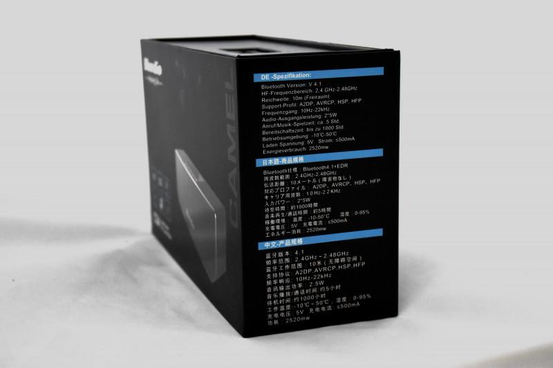 Aliexpress: Беспроводная Bluetooth колонка Bluedio CS-4 – красиво, стильно, громко