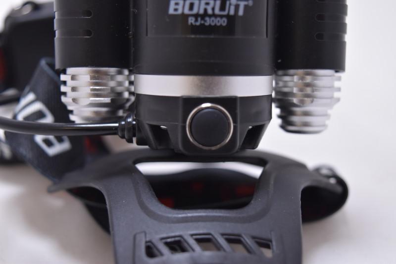 Tmart: Наш первый налобный фонарь Boruit RJ-3000. Вполне себе качественно