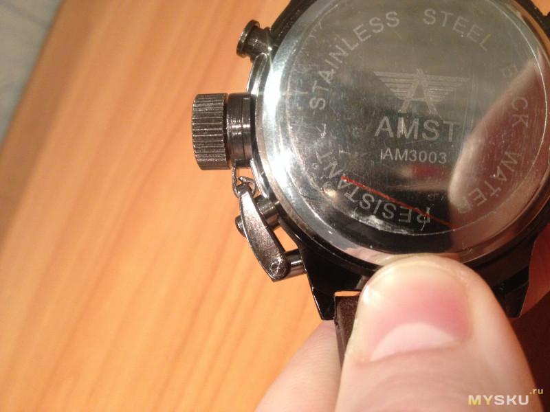 Как наносить часы amst 3003 батарейка между ними могут
