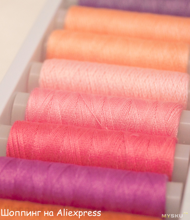 Наборы ниток для шитья