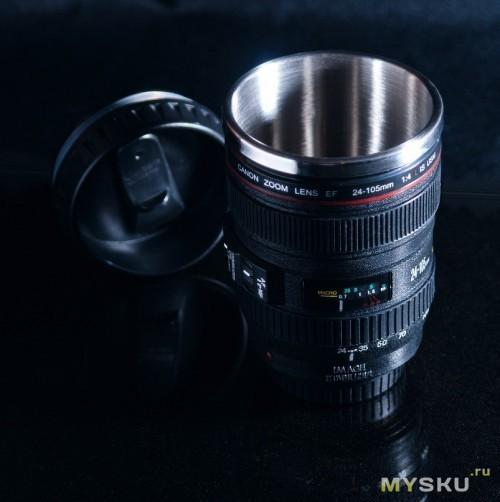 Кружка-объектив Canon 24-105мм (300ml)