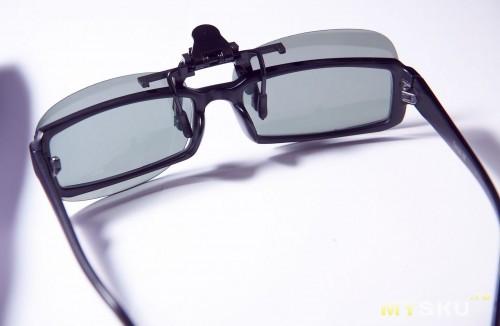 Поляризованные солнцезащитные накладки на очки