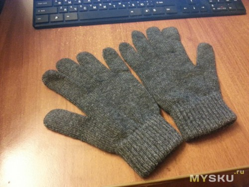 Перчатки после стирки