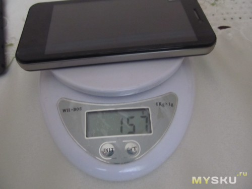 m1 вес