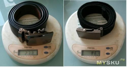 вес ремней