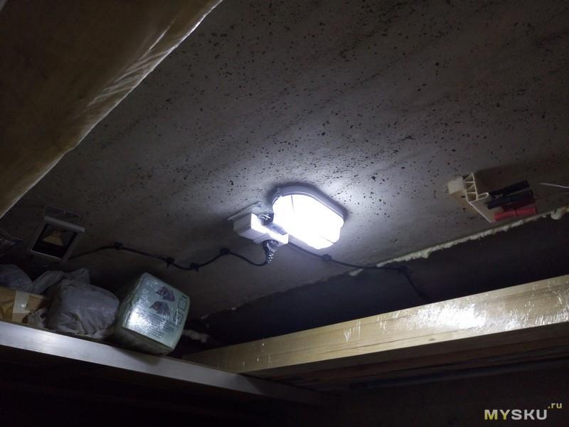 Еще один светодиодный светильник в гараж своими руками