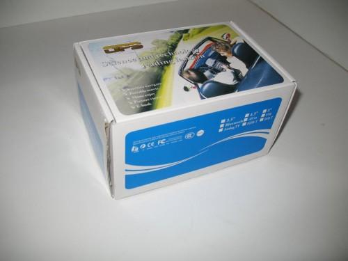 Коробка с навигатором