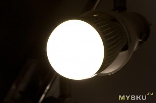 Лампа крутно