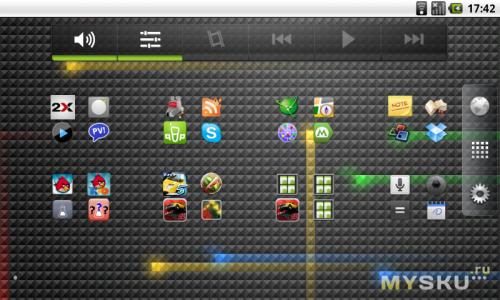 Экран приложений