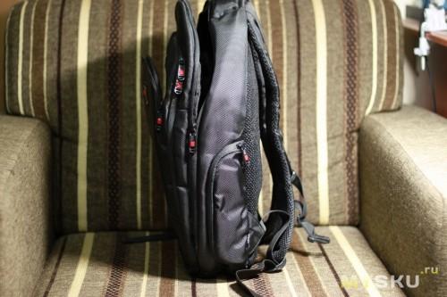 Рюкзак, вид сбоку