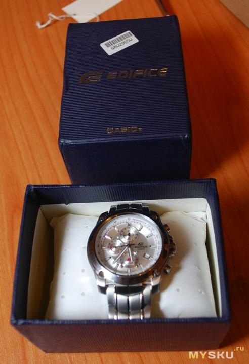 Часы CASIO Edifice EF-524D-7A - ОРИГИНАЛ - В Наличии