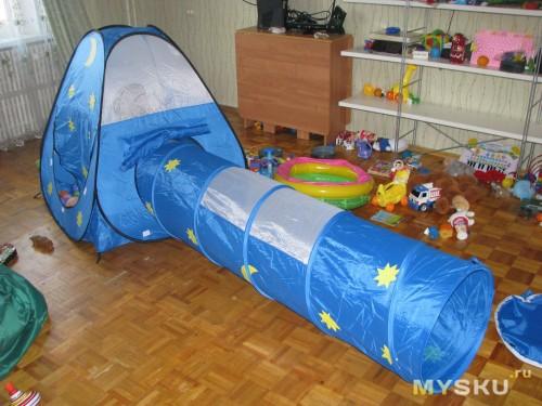 Палатка спереди