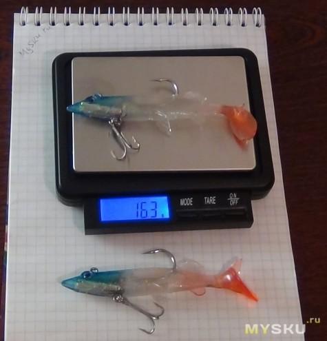 Силиконовые рыбки