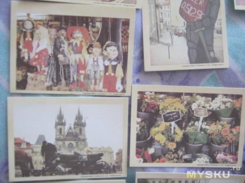 открытки разные)