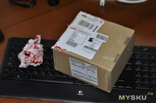 Открыть коробку без палева не получится