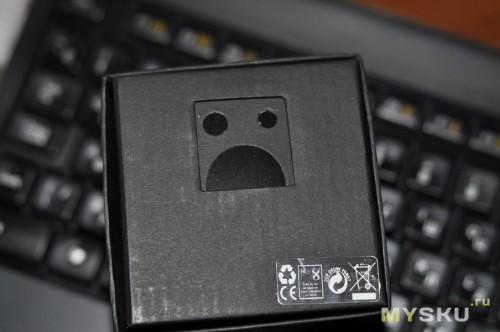 Черная коробочка как бы намекает...