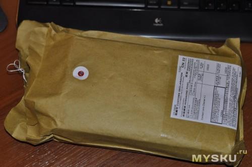 Упаковано в картонный пакет