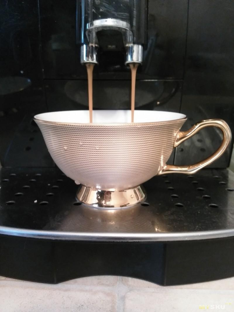 Кофе пошёл
